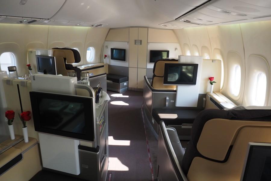 Lufthansa First Class Frankfurt Nach Los Angeles Review